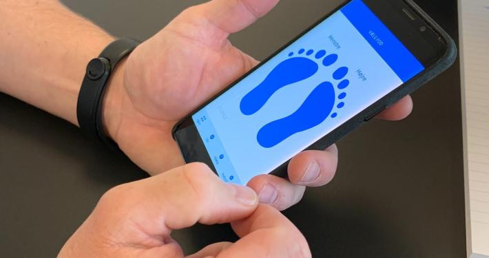 App til diabetiske fodsår